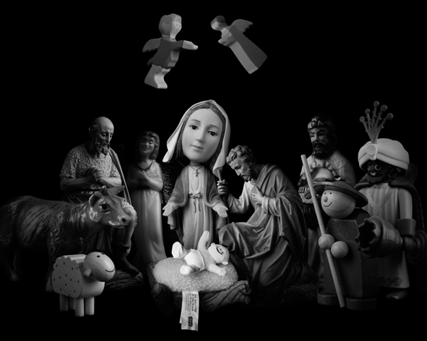 11 NATIVITY SCENES IN ONE