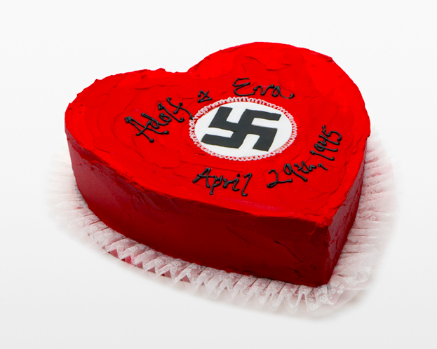 ADOLF 'N' EVA'S WEDDING CAKE