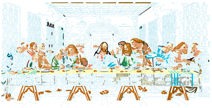 LAST SUPPER #8