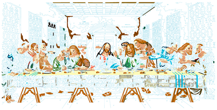 LAST SUPPER #9