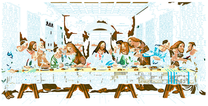 LAST SUPPER #10