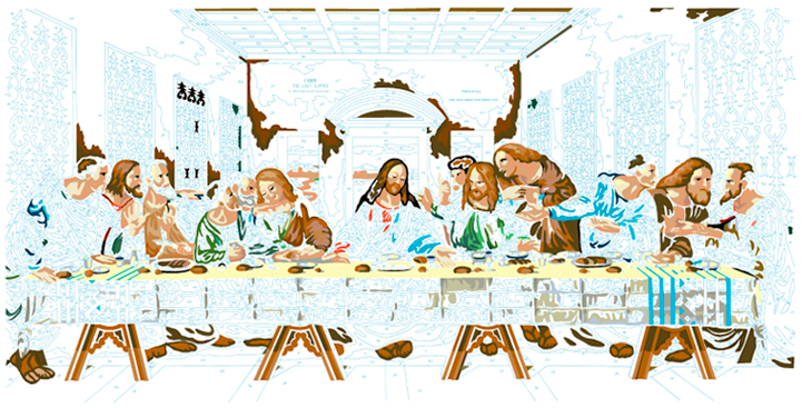 LAST SUPPER #13