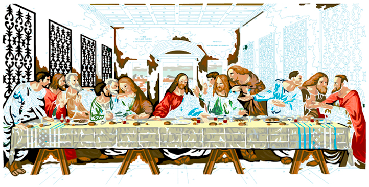 LAST SUPPER #22