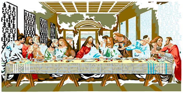 LAST SUPPER #28