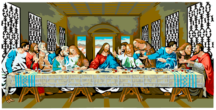 LAST SUPPER #35
