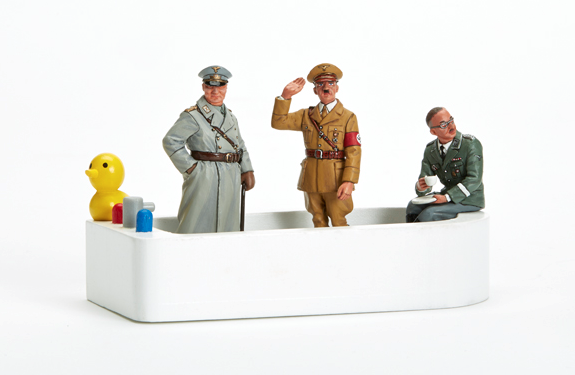 THREE NAZIS IN A TUB