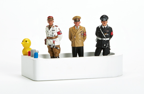THREE LESSER-KNOWN NAZIS IN A TUB