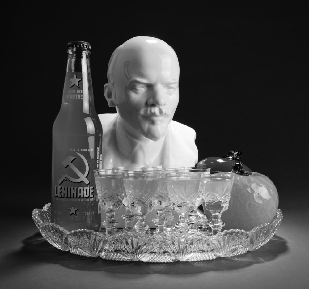 Still Life with Lenin and Leninade