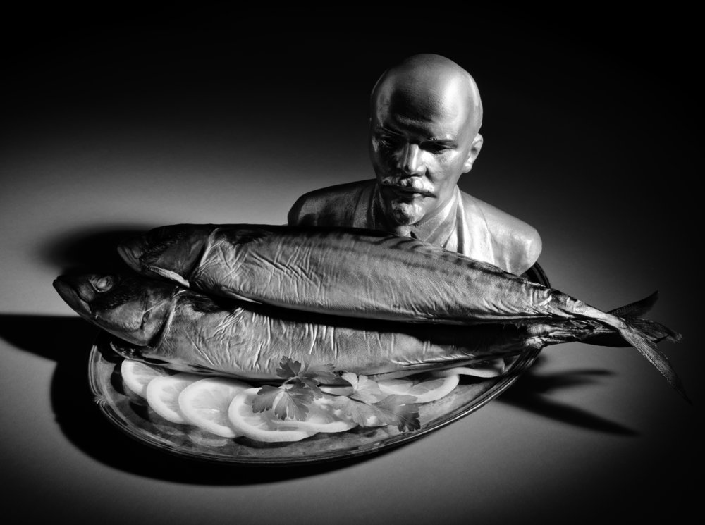 Still Life with Lenin and Smoked Mackerel
