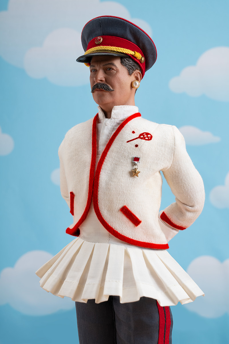 STALIN IS THE FAIREST DICTATOR OF THEM ALL!  (at Wimbledon!)