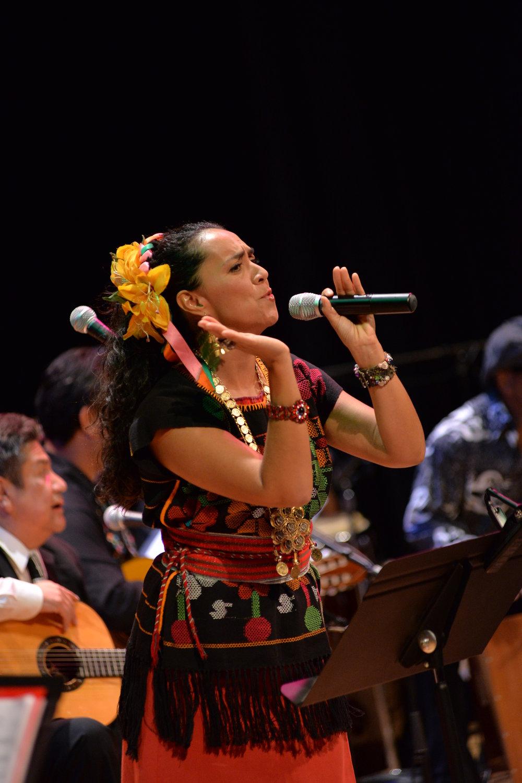 IUNA ITZEL, VOCALIST<BR>Mexico