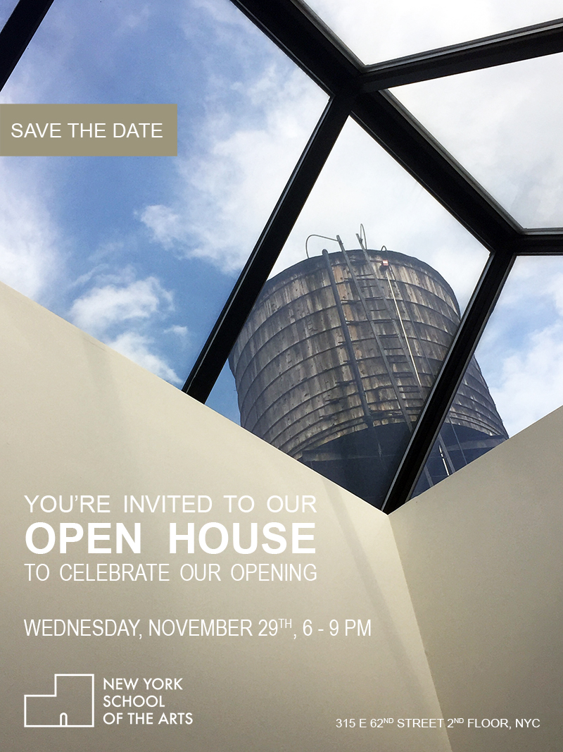 New York School of the Arts OPEN HOUSE INVITE.jpg