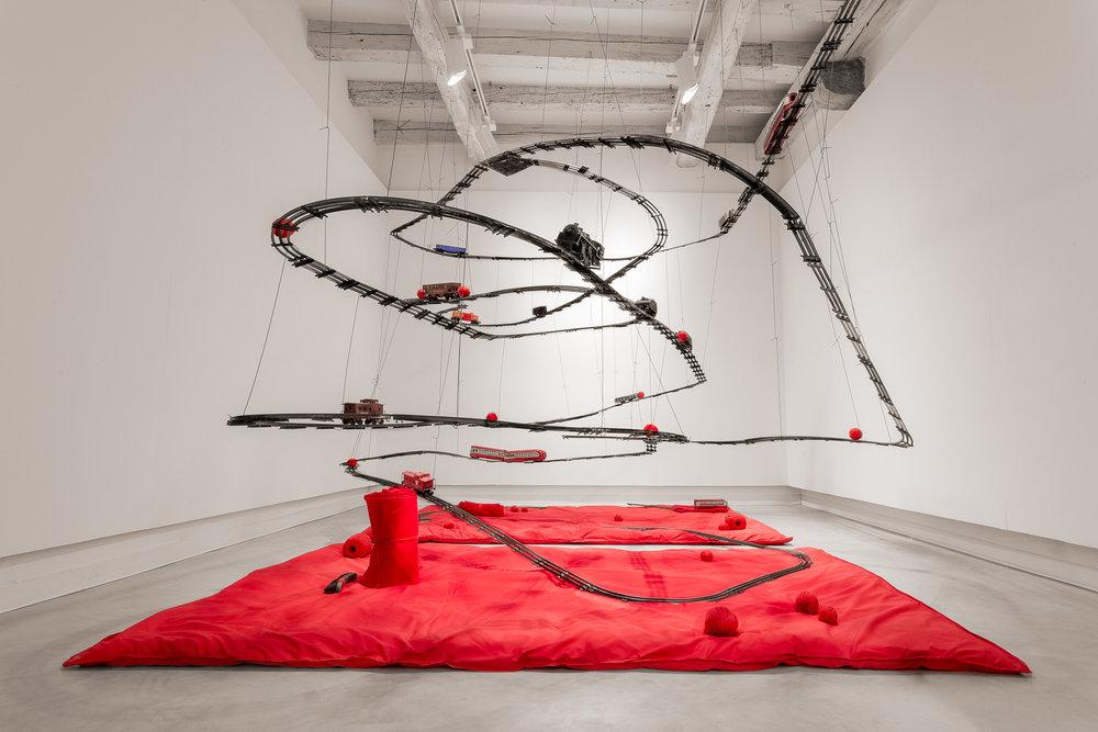 Maurizio Pellegrin, Flying Trains,2015-16.jpg