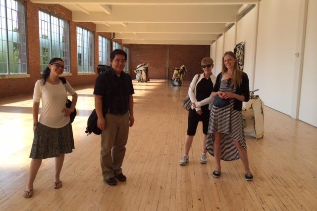 Karen Lindsay, Museum Visit.JPG