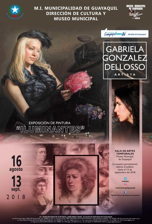 Gabriella Delosso, Solo Exhibition at The Municipal Museum in Guayaquil, Ecuador.jpg