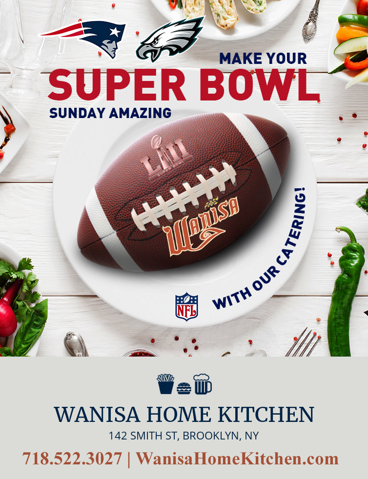 - Place your order today! Don't wait until its to late. Catering available 7 days a week. Impress your friends on game day. #superbowleats