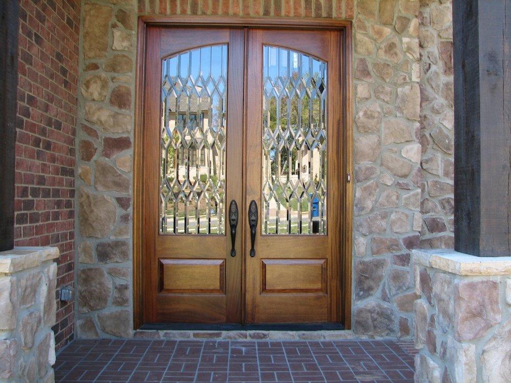 Beveled Glass Entry Door.JPG