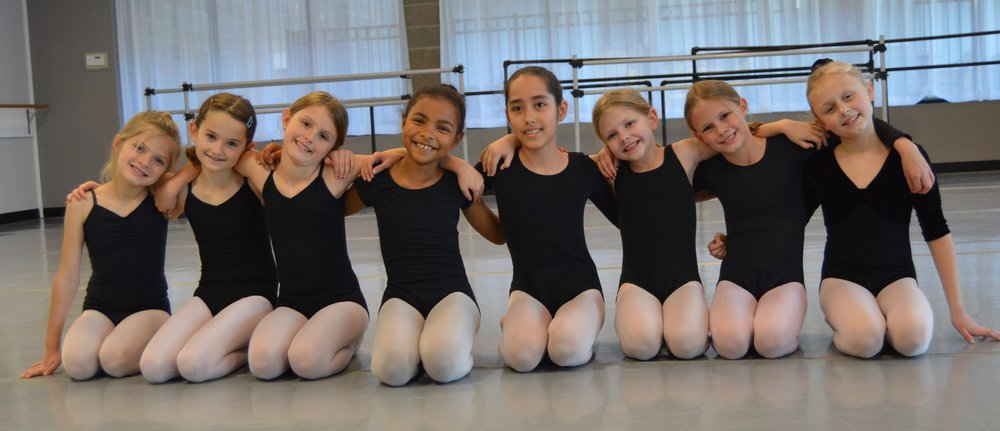 Lower Division Ballet Students
