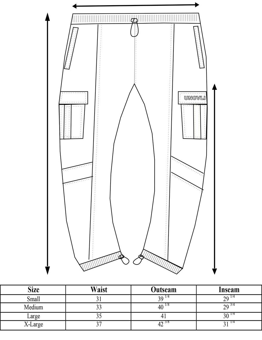 envy contrast stitch cargo pants.jpg