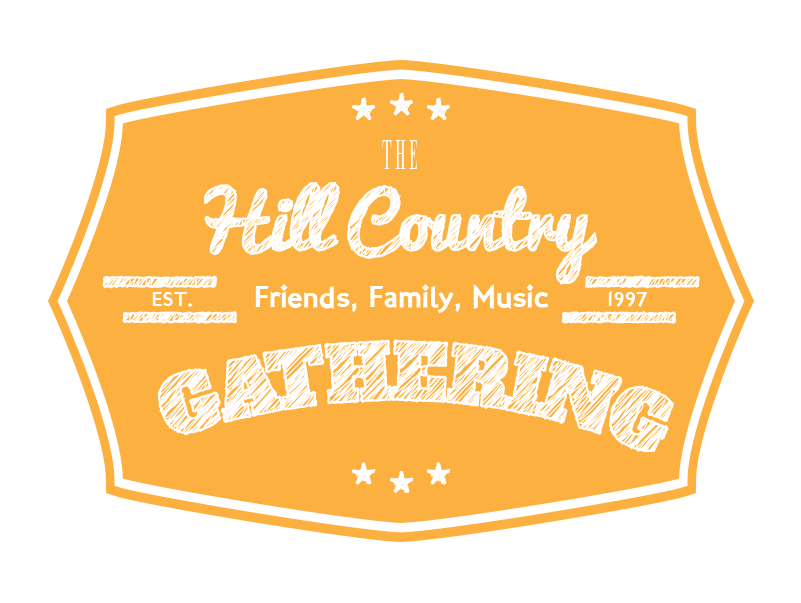 Hill Country Gathering   The HCG is a long running annual musical gathering in the Texas hill country. Pick up a guitar, banjo, bass, or spoons and you'll fit right in!