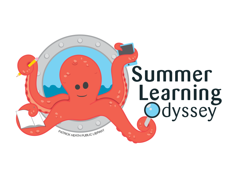 "Patrick Heath Public Library Summer Learning Odyssey   PHPL's ""under the sea"" theme for a summer reading program for kids."
