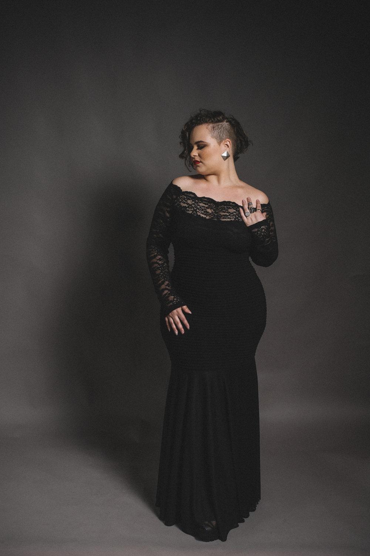 Yoli Black Dress