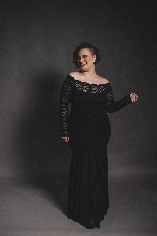 Yoli Laughing Black Dress