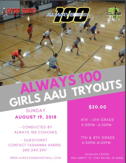 Click the link below to register.   https://form.jotform.com/81693849923170   Payments will be accepted on August 19th (Cash or Check Only)  If you have any questions, please call Tashanna @260.245.2011