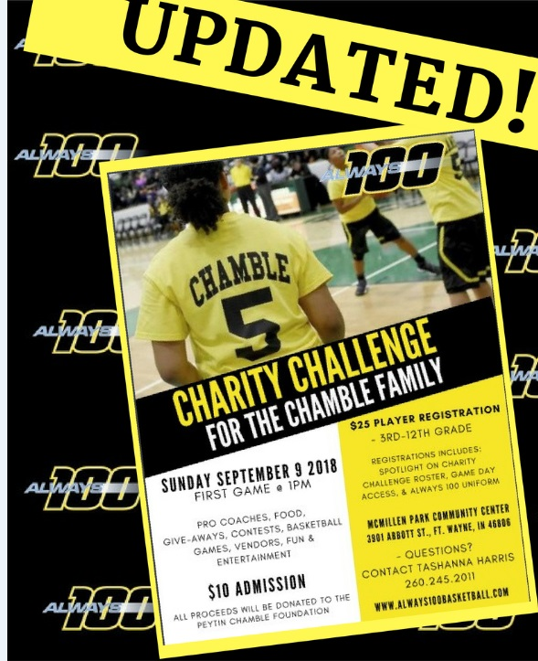Would you like for your athlete to be apart of this year's Charity Challenge?  Register in the Camp tab!  To make a donation to the Peytin Chamble Foundation, please click the link.     https://www.paypal.com/donate/?token=B5TJnvD4DVS0q3-ne_R8JXz69MYFFgjTtRf_qkTIIcFBrX9O6QqbIzVJNE6ieBN7hAhmW0&country.x=US&locale.x=US
