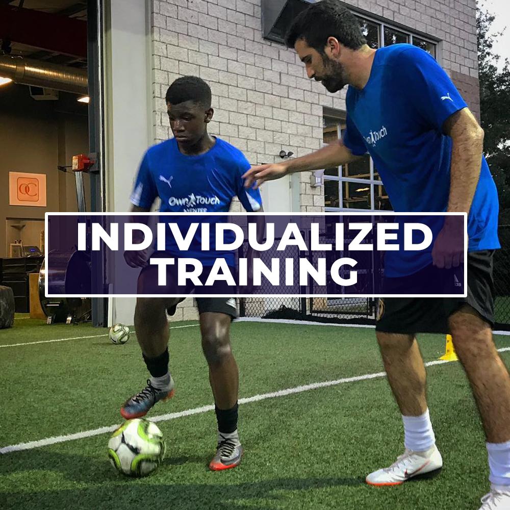 soccer technical training