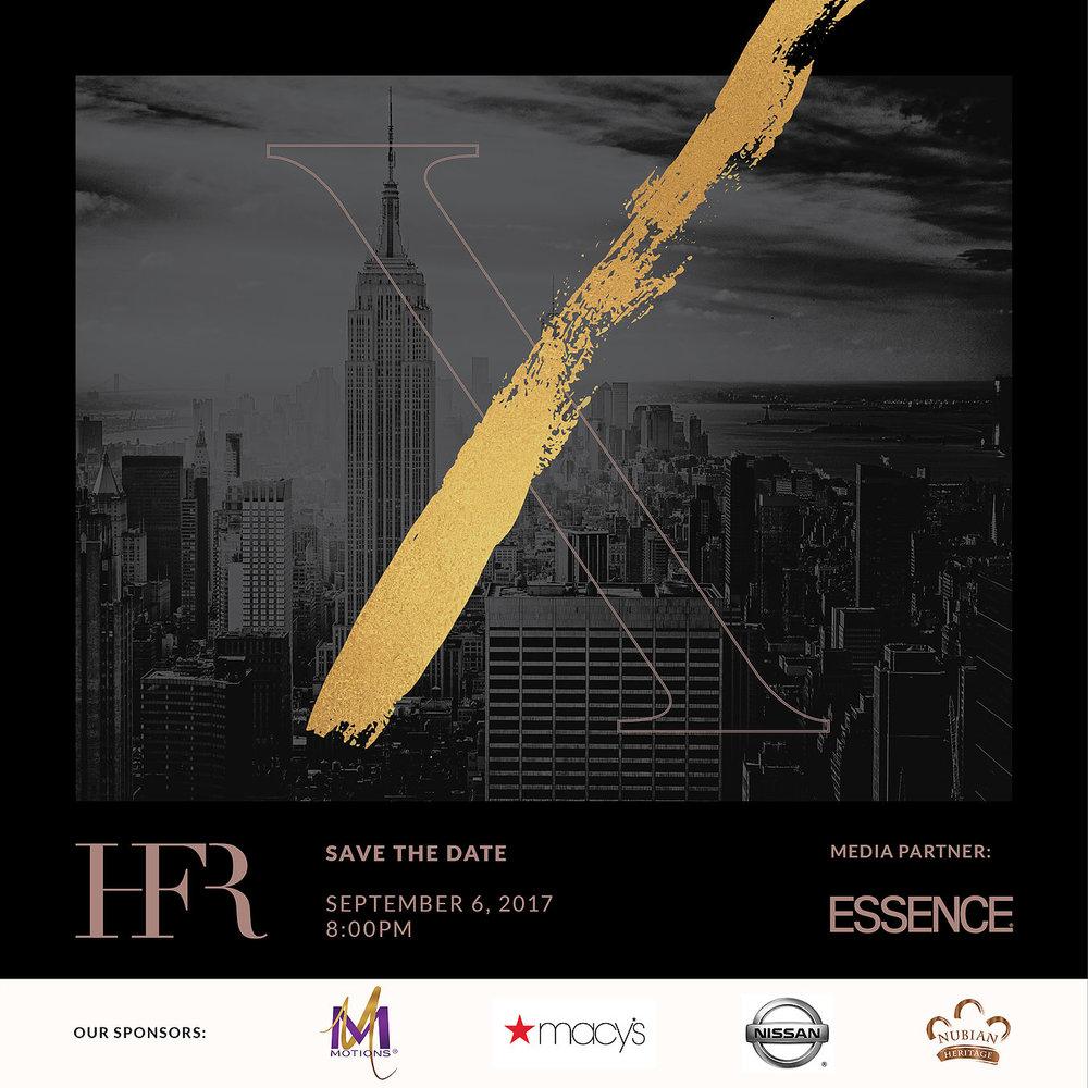 Harlem fashion row invite