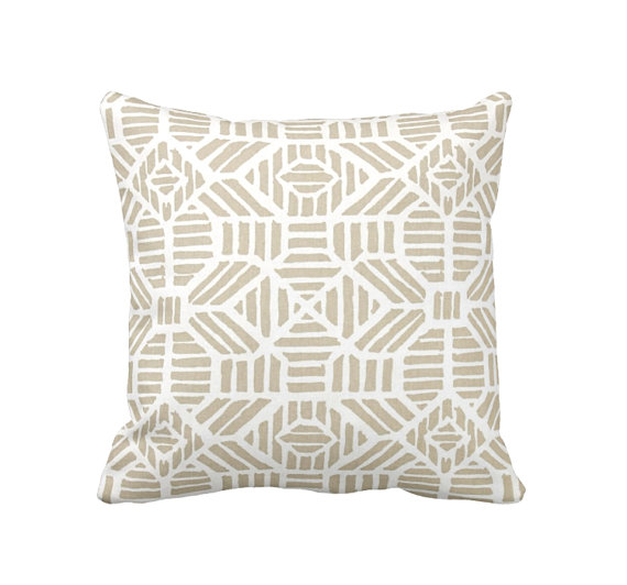 gold neutral designer pillow on etsy