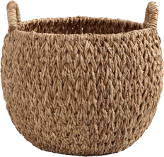 large woven basket- world market