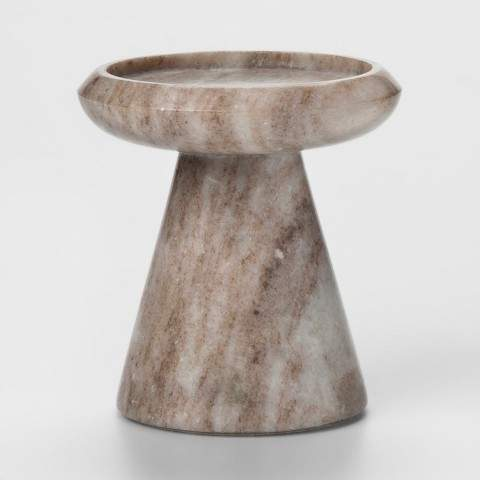 marble candle stick- target