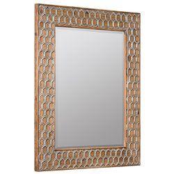 Wayfair Fources Rectangular Wall Mirror