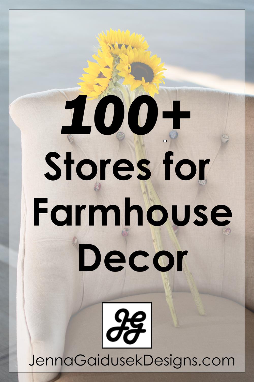 100+ Farmhouse stores