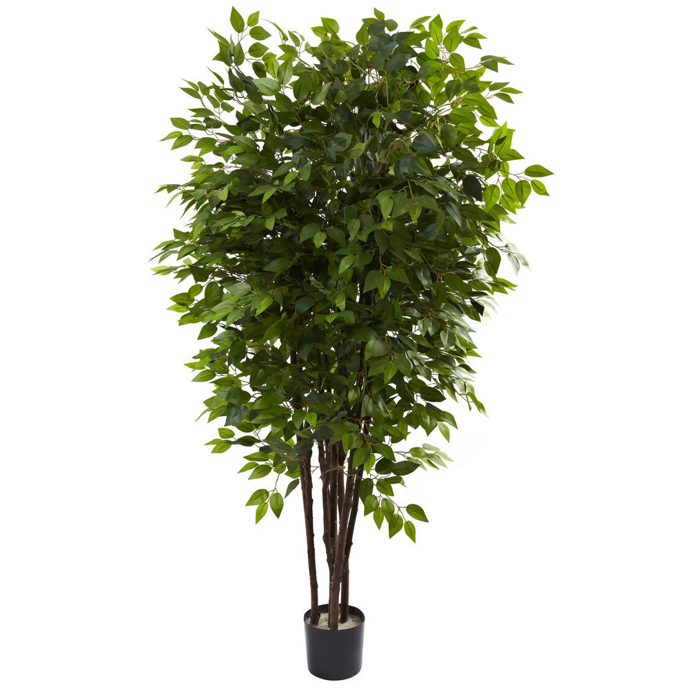 Nearly Natural 6.5' Ficus Tres