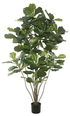 indoor faux fiddle leaf fig tree