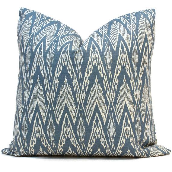 teal boho pillow
