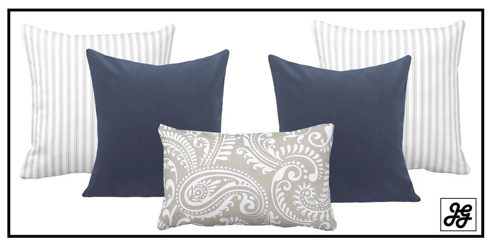 Modern farmhouse pillow collection