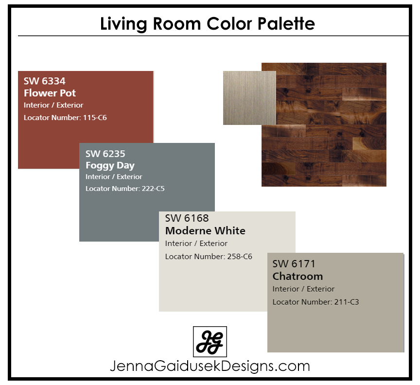 Farmhouse Living Room Paint