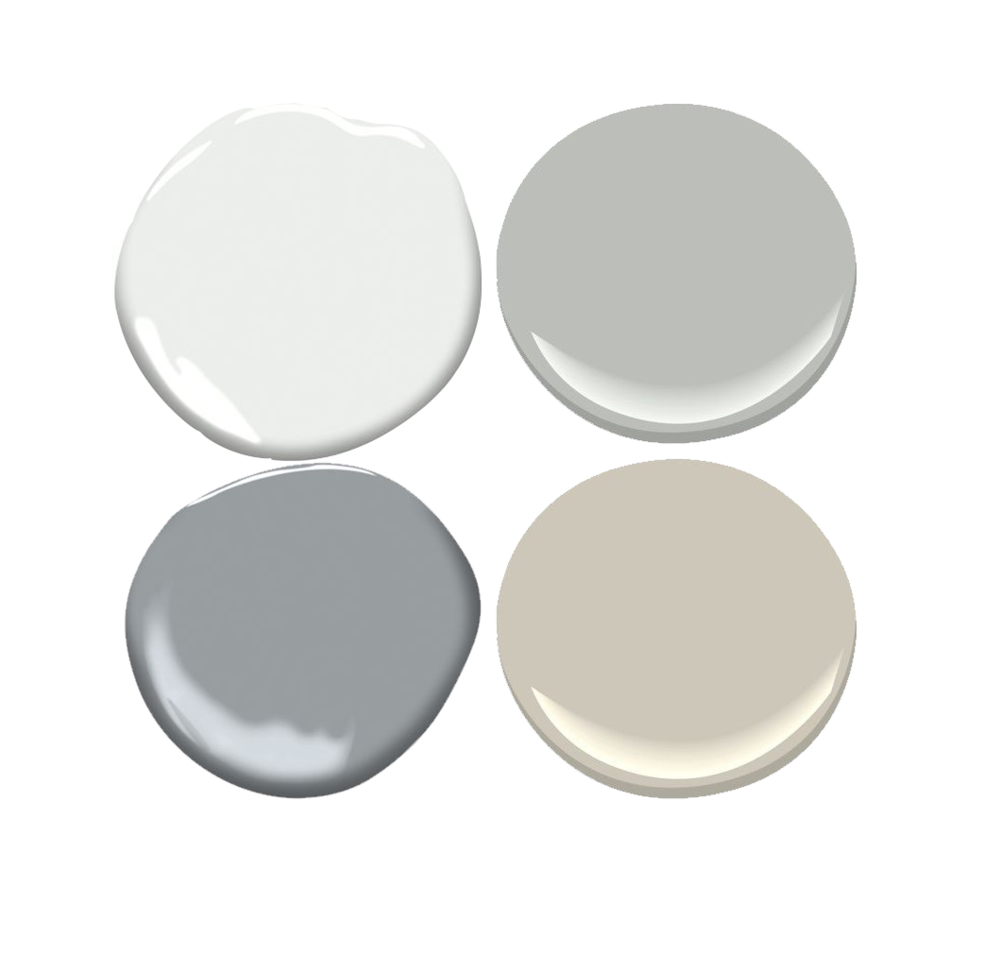 Paint Selection - This is great if you are looking to repaint a few rooms on one floor and aren't sure how to choose paints that work well together. I will send you a couple color palettes that you can use for various adjacent rooms in your home to get a cohesive look.
