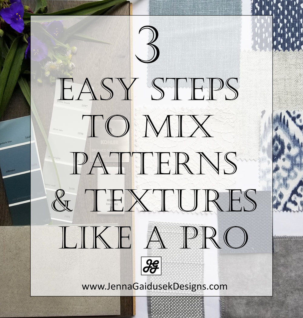 3 easy steps to mix patterns