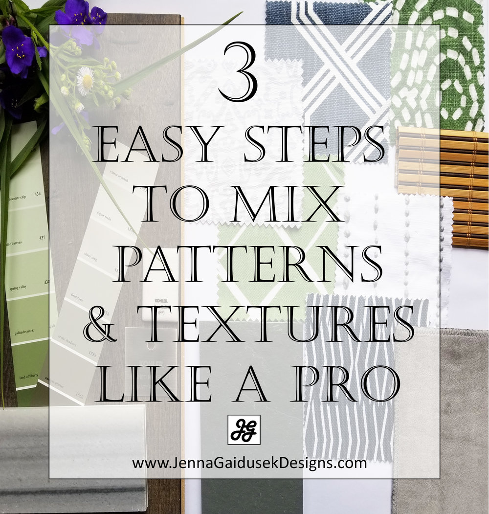 3 easy steps to mix patterns like a pro