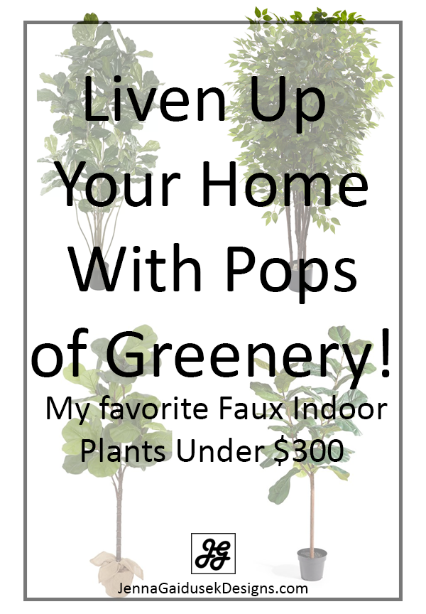 Liven up your home with pops of greenery