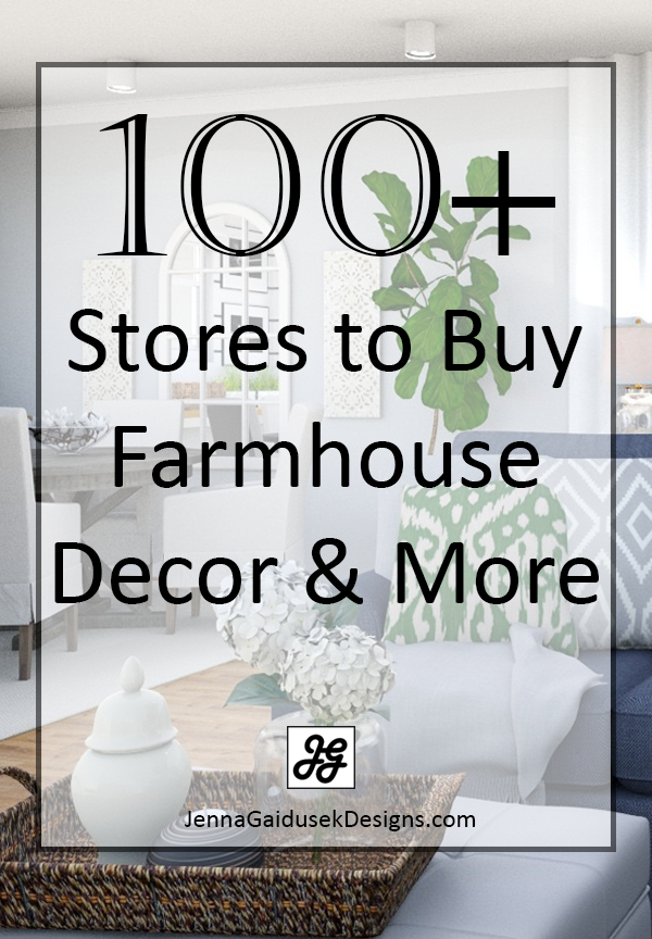 100 stores to buy farmhouse decor and more