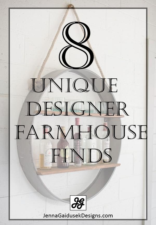 8 unique farmhouse finds