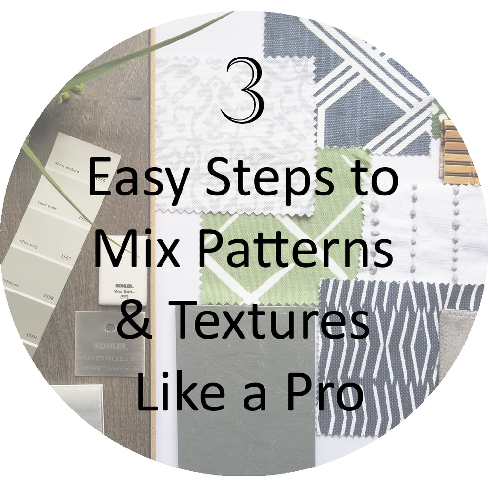 3 easy ways to mix patterns and texture like a pro
