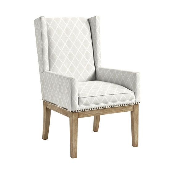 Ballard Designs- Marlene Dining Chair with Brass Nailheads