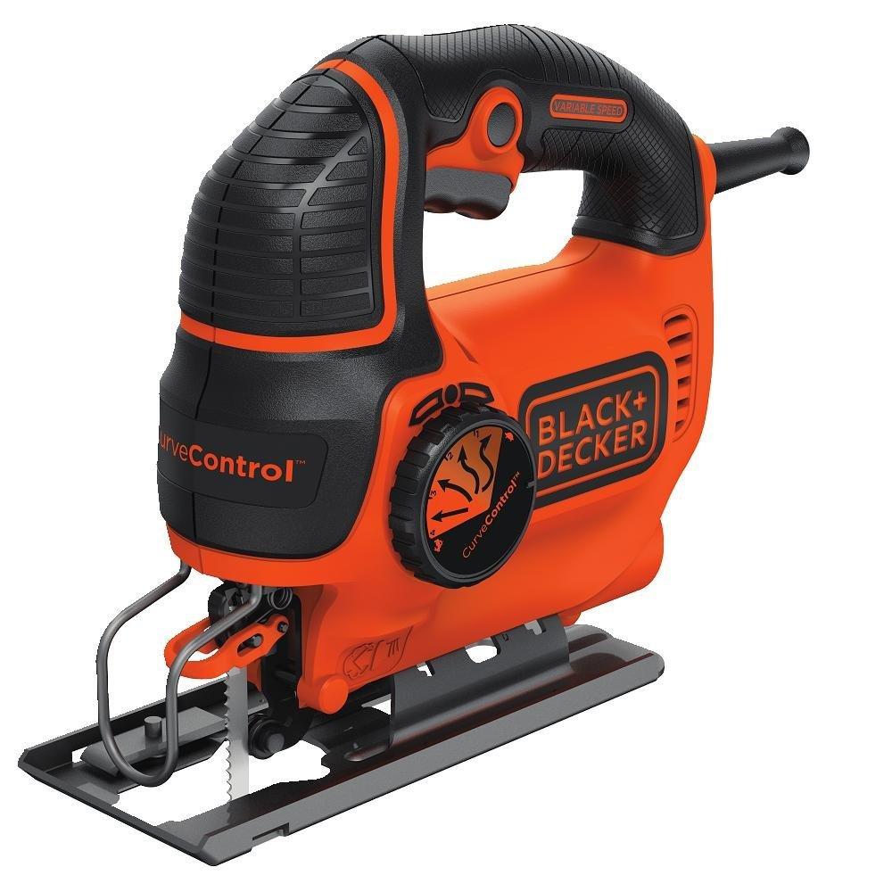 BLACK+DECKER BDEJS600C Smart Select Jig Saw, 5.0-Amp Amazon saw. install peel and stick wall